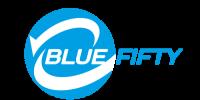zwalczanie legionella - Logo blue fifty