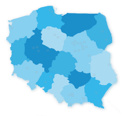Zwalczanie Legionelli w Polsce lokalizacja Bifiro